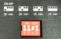 図3 LED 光分解時間設定用スイッチ