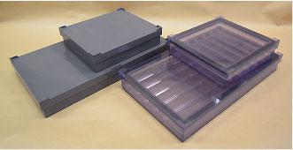 高温用インキュベーションチャンバー 透明タイプ & 遮光タイプ