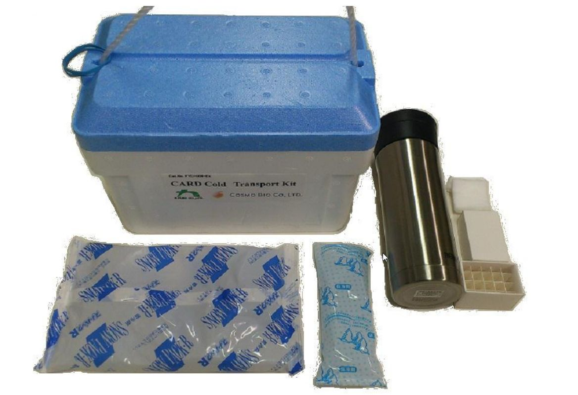 Card Cold Transport Kit Safe Transport System for Mouse Cauda Epididymides and Embryos