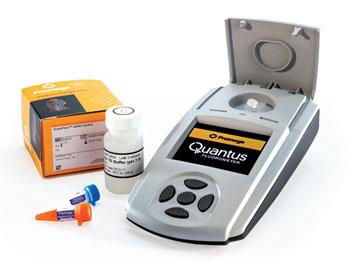 Quantus™ Fluorometer ミニフルオロメーター